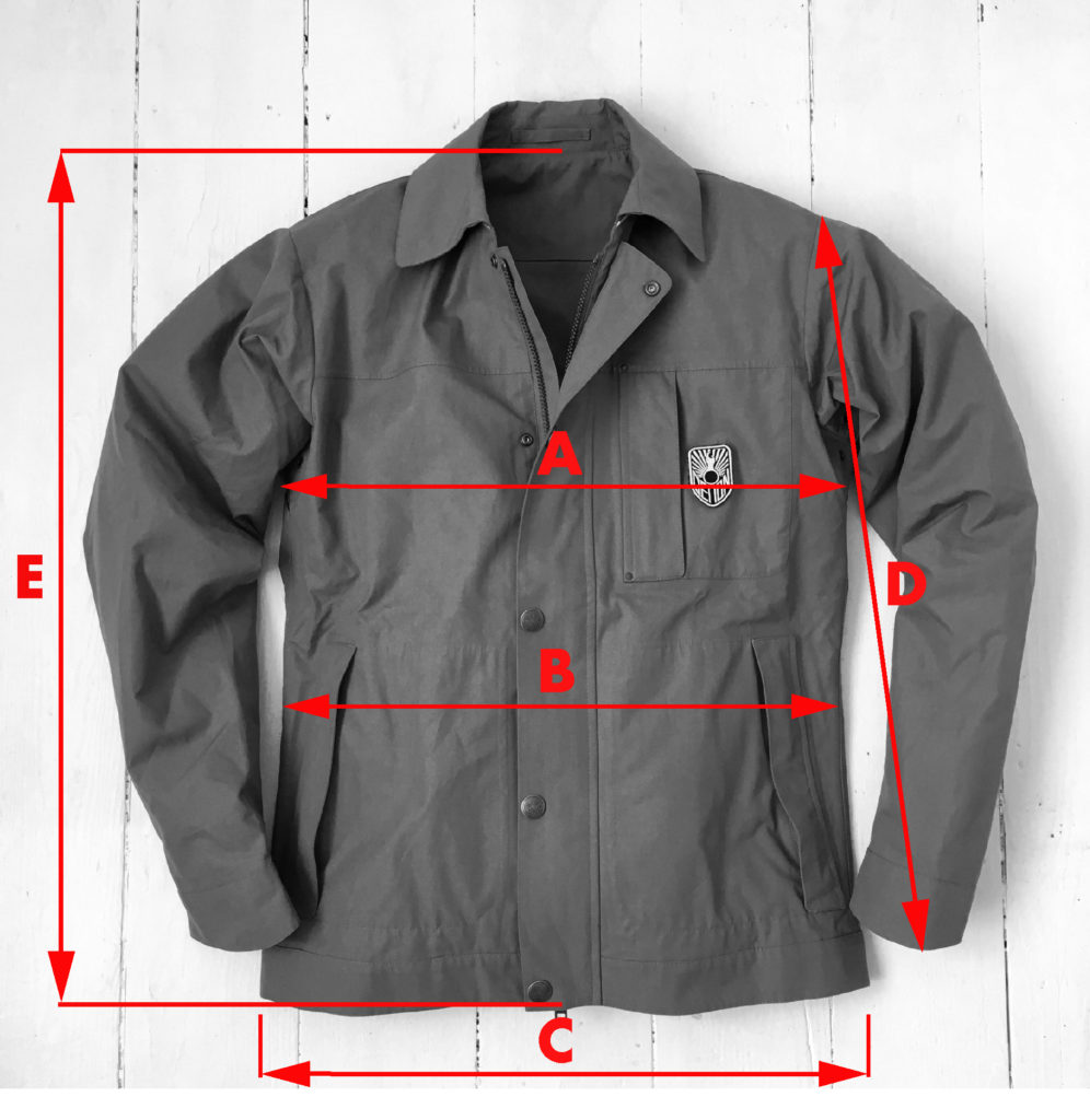 jacket-size-diagram